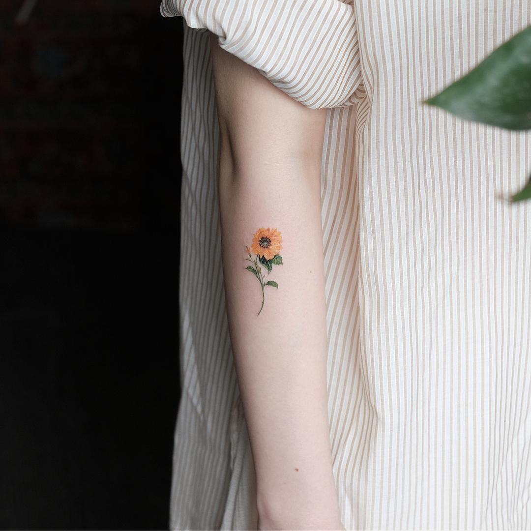 15 Tatuajes De Flores Para Decorar Tu Piel Con Aroma