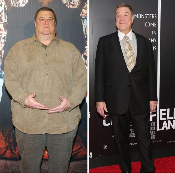 John godman antes y después de perder peso