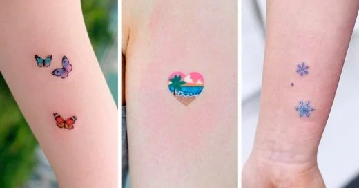 25 Tatuajes Para Mujeres Pequeños Y Sencillos