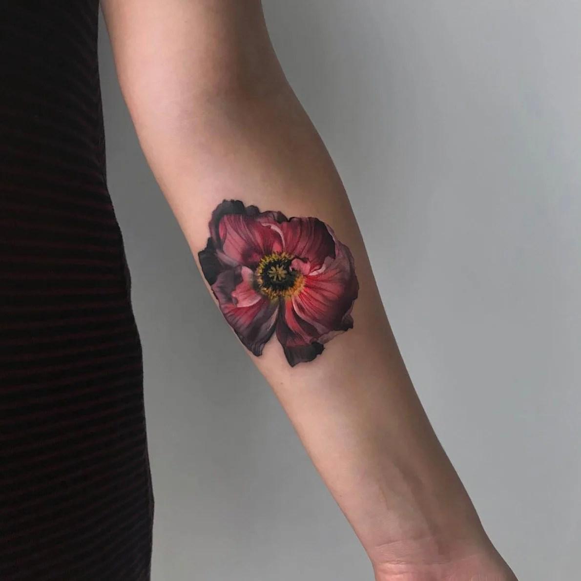 Tatuajes De Flores Y Su Significado Para Adornar Tu Piel