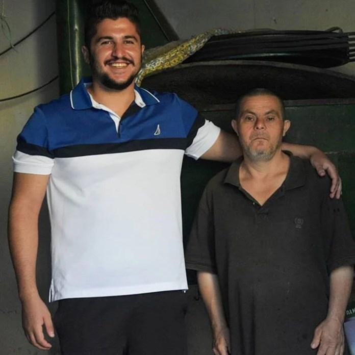 Sader Issa y su papá Jad 2