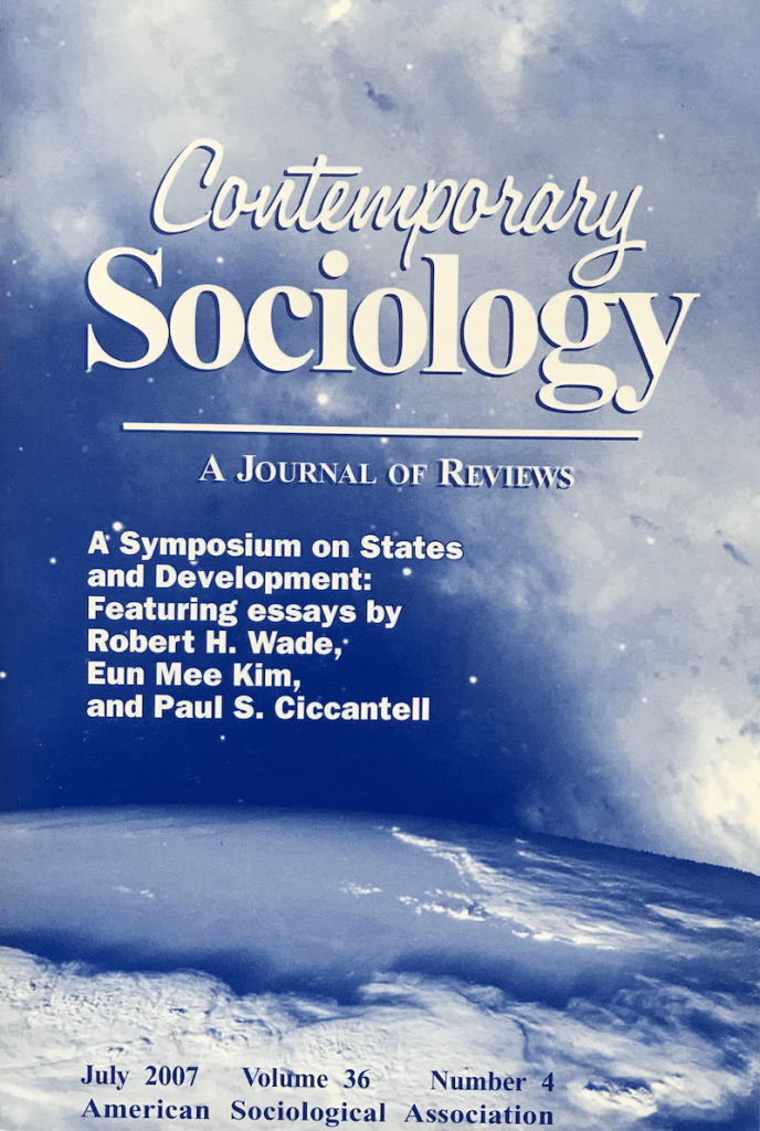 Book Reviews in ASA's Contemporary Sociology