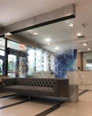 11' Glass Waterwall, Flushing NY