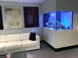 Broadway CEO Private Office Aquarium / Garment District