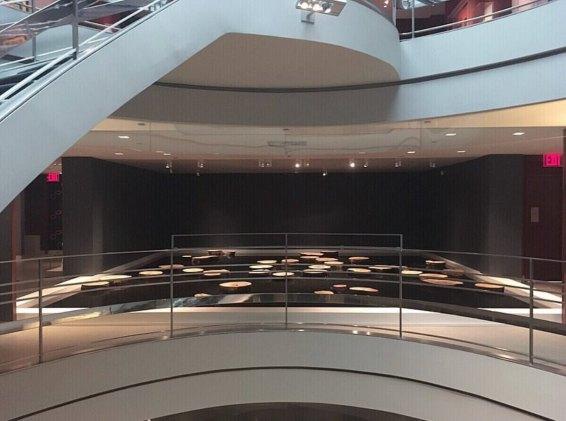 Rubin Museum Pond Installation with Artist Matti Braun
