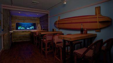 Midtown Bar Freshwater Aquarium