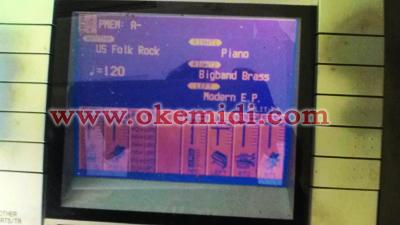 Jual Keyboard Technics KN2600 Second