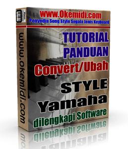 Cara Convert Style Keyboard Yamaha PSR S970 770 950 750 910 710 menjadi Style PSR S900, 700, 2000, 3000, 1500, 2100