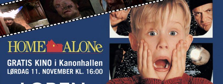 Foto fra Løren.no Lørdag 11. november, kanonhallen Juleklassikeren «Hjemme alene» vises i kanonhallen. Filmen vises fra klokken 16:00. Dette passer for store og små.Det er gratis for alle. Vi får […]
