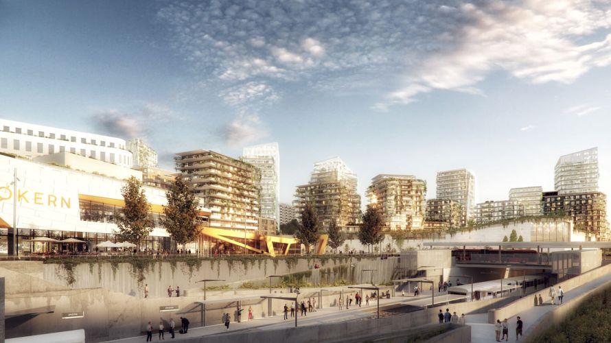 Hille Melbye Arkitekter har nå tegnet opp nye bilder av fremtiden for Økern Sentrum. Endringene med Økernsenteret har vært kjent en stund, men disse tegningene viser mer av hva som […]