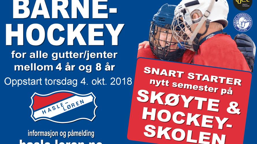 Hasle Løren arrangerer igjen skøyte og hockeyskole for alle barn i alderen 4 – 8 år. Dette er et meget godt tilbud for barn som aldri har hatt skøyter på […]