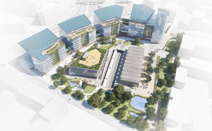 I Økernveien 119, rett over tbanesporene, vil Nordea liv utvikle eiendommen til næring og kultur. Det er planer om hotell på tomten, signalbygg på 12 etasjer, hall for kunst og […]