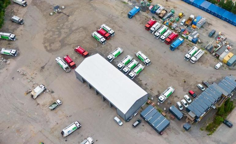 Søppelbilene inntar Økern