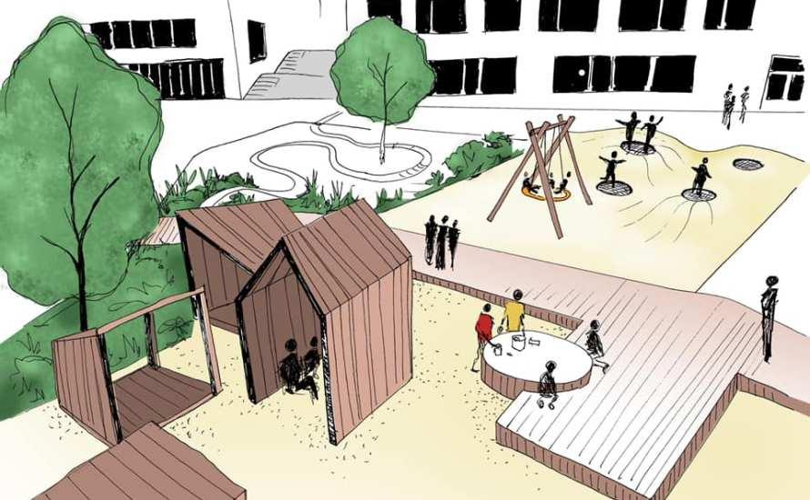 Asplan Viak har kommet med nye tegninger av Refstad skole. Skolen skal bygges på tomten øverst i Økern Torgvei, hvor den midlertidige skolen for Løren en gang ble bygget. Den […]