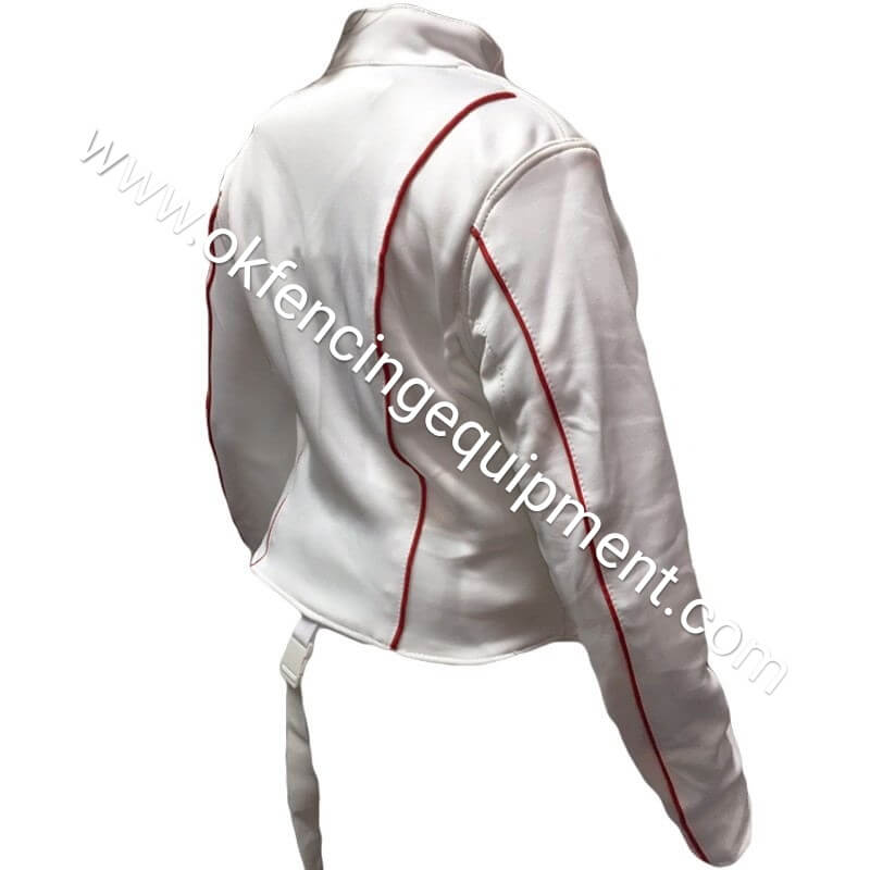 Fencing Vest with stripes