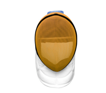 350NW epee mask in yellow grid