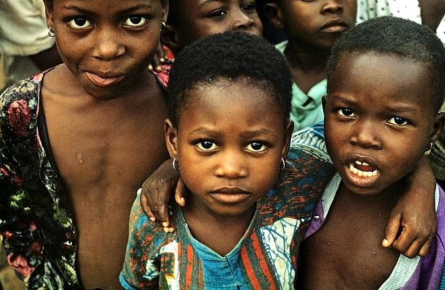 Dzieci znad Zatoki Gwinejskiej