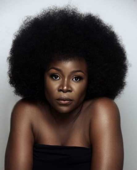 Omawunmi Flaunts Her Natural Black Skin In New Photos