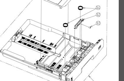 OKI 43651503 Paper Feed Repair Kit (Tray 1)