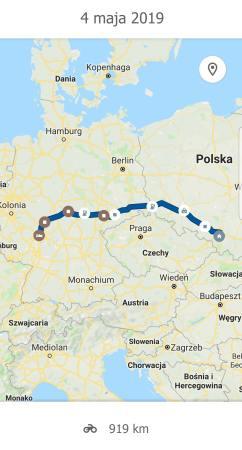 Trasa Frankfurt Tychy