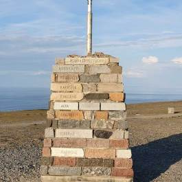 Nordkapp pomnik