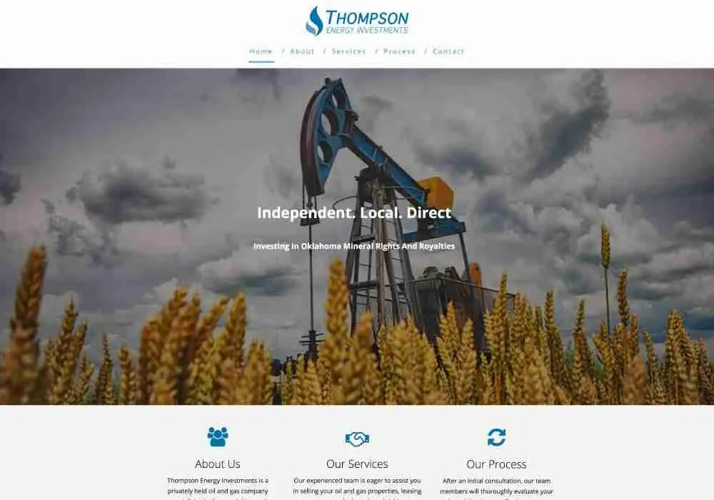Portfolio - Thompson Energy