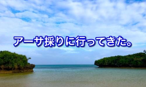 アーサ・あおさ・沖縄