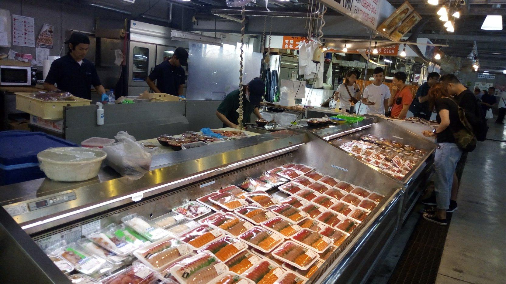 Okinawa Naha Tomari Fish Market
