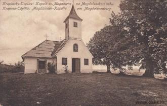 Krapinske Toplice: Kapela sv. Magdalene na Magdalenskom vrhu / Krapina-Töplitz: Magdalenen-Kapelle am Magdalenenberg / Leopold Koritschan, Krapinske Toplice / 1913. godina / Putovala u St. Wolfgang
