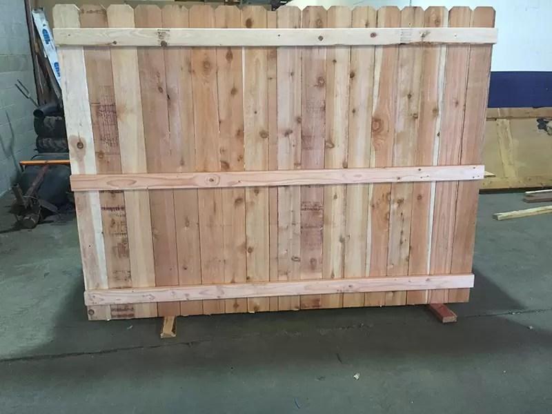 Cedar Fence Board Projects