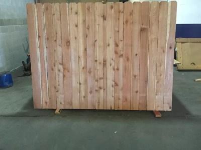 Western Red Cedar Fence Pickets Okc Oklahoma Lumber Amp Supply
