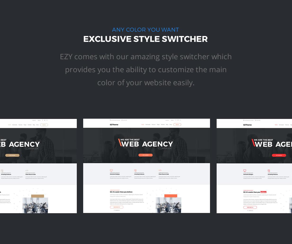 EZY – Responsive Multi Purpose HTML5 Template Bootstrap4