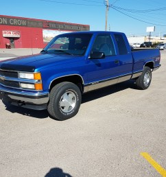 1997 chevrolet 1500 ext cab z71 4x4 one owner truck  [ 4032 x 3024 Pixel ]