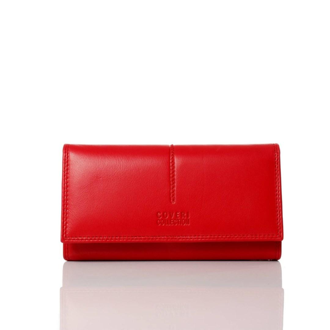 Art. 7785 Portafogli donna coveri rosso