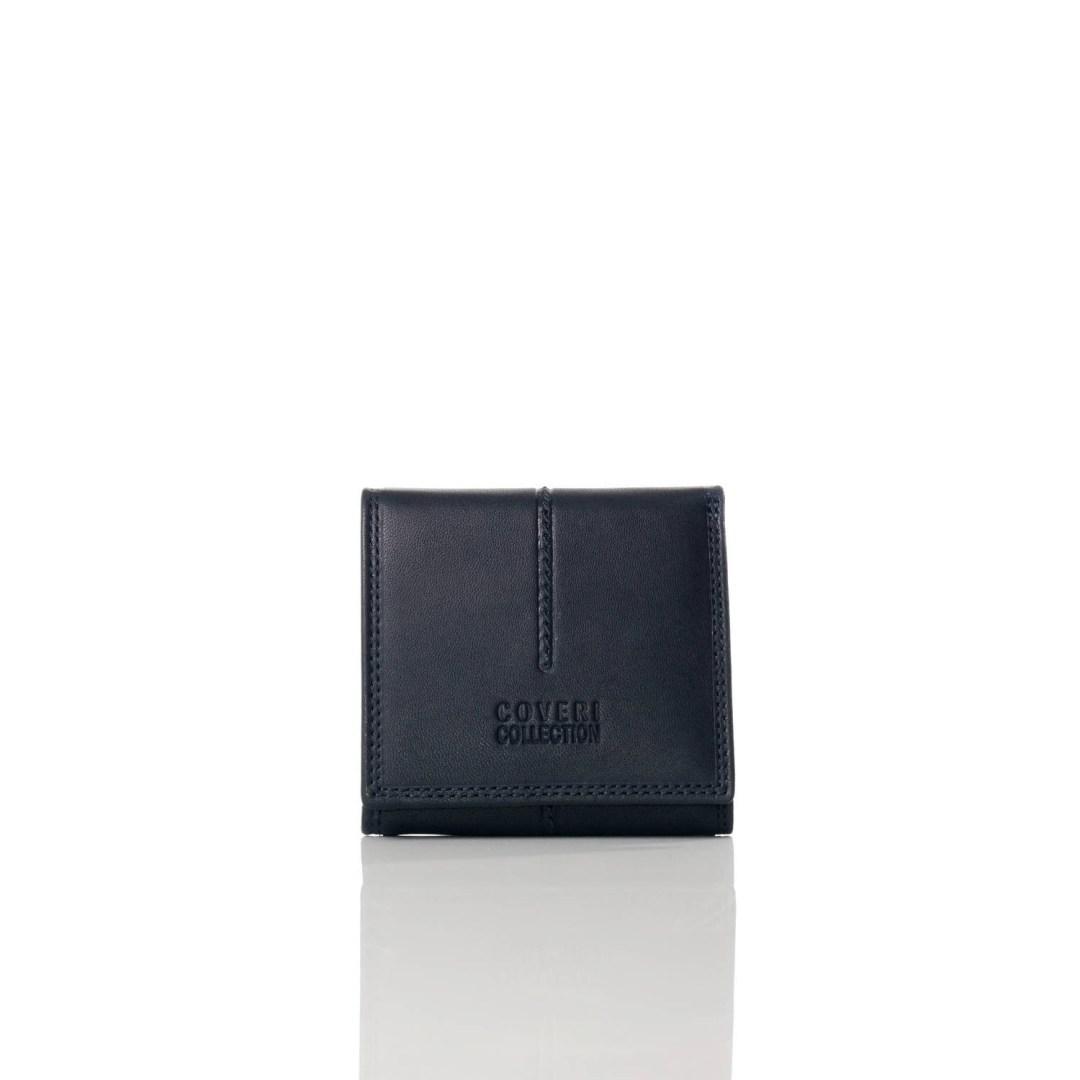 Art. 7817 Portamonete portafogli di pelle blu uomo