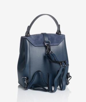 Borsa zainetto elegante blu
