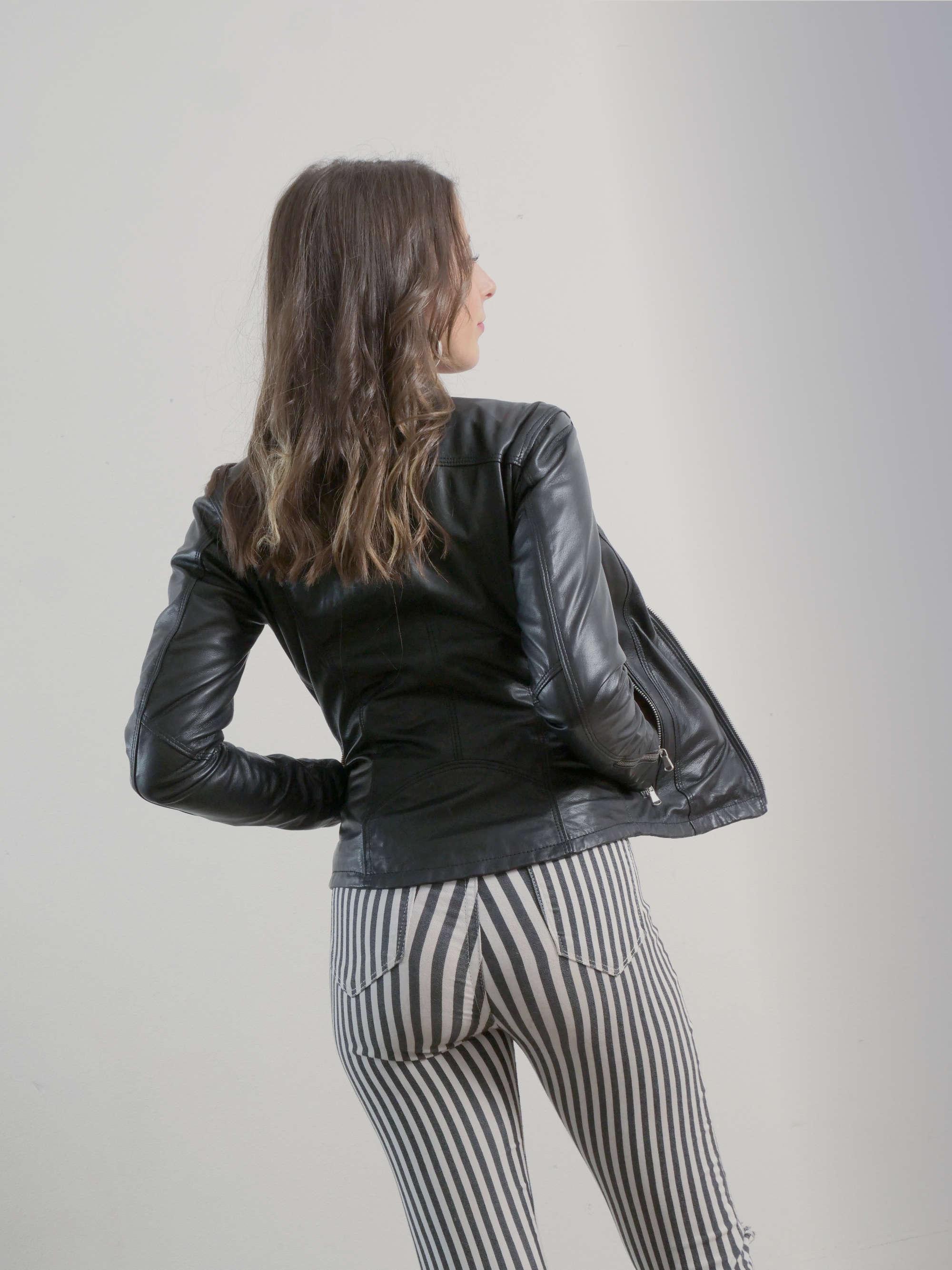 Balenciaga | Giacche | JACKET | Giacca Biker In Pelle | Nero