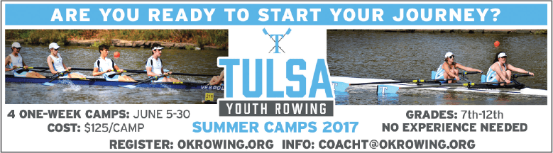 Tulsa Youth Rowing Association Summer Camps