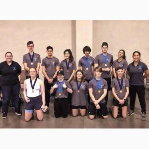 OKC Riversport Indoor Challenge Tulsa Youth Rowing Association Team Photo