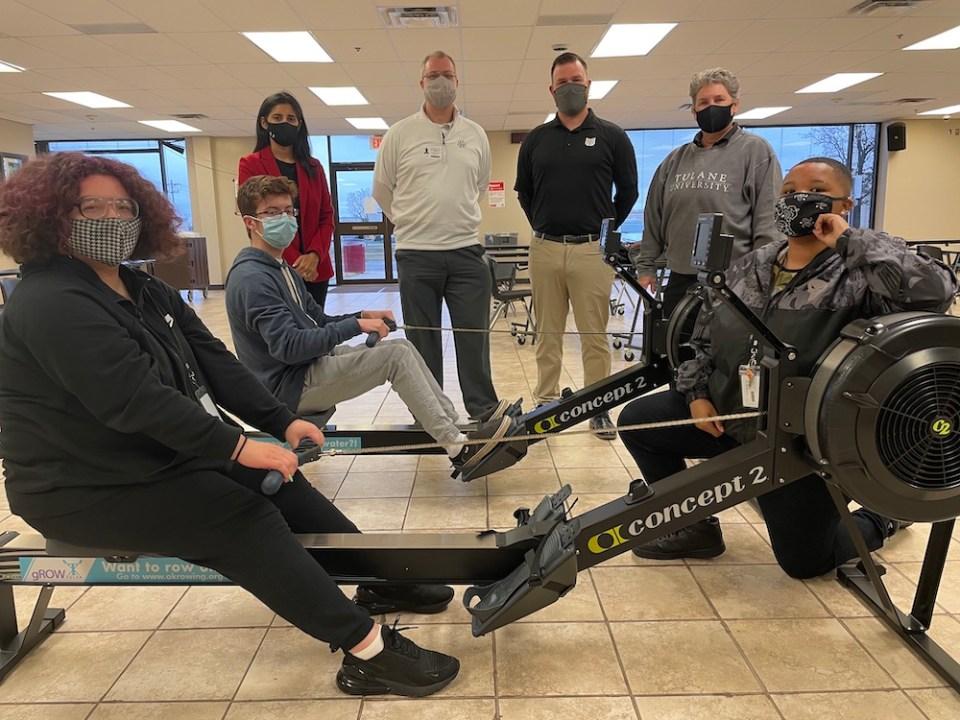 union alternative school rowing stem program tulsa oklahoma