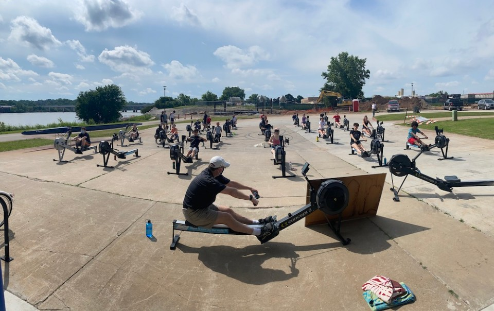youth rowing clinic tulsa outreach