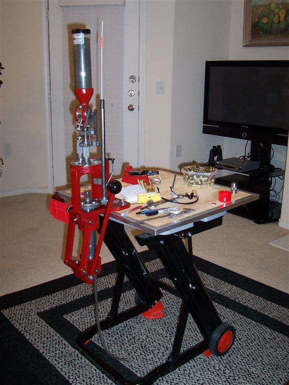 reloading in an apartment