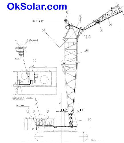 Crane Obstruction Light