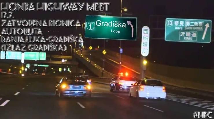 Honda Highway meet