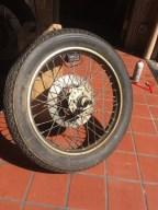 CB 350 kotač