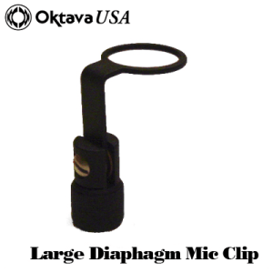 Large Diaphragm Mic Clip
