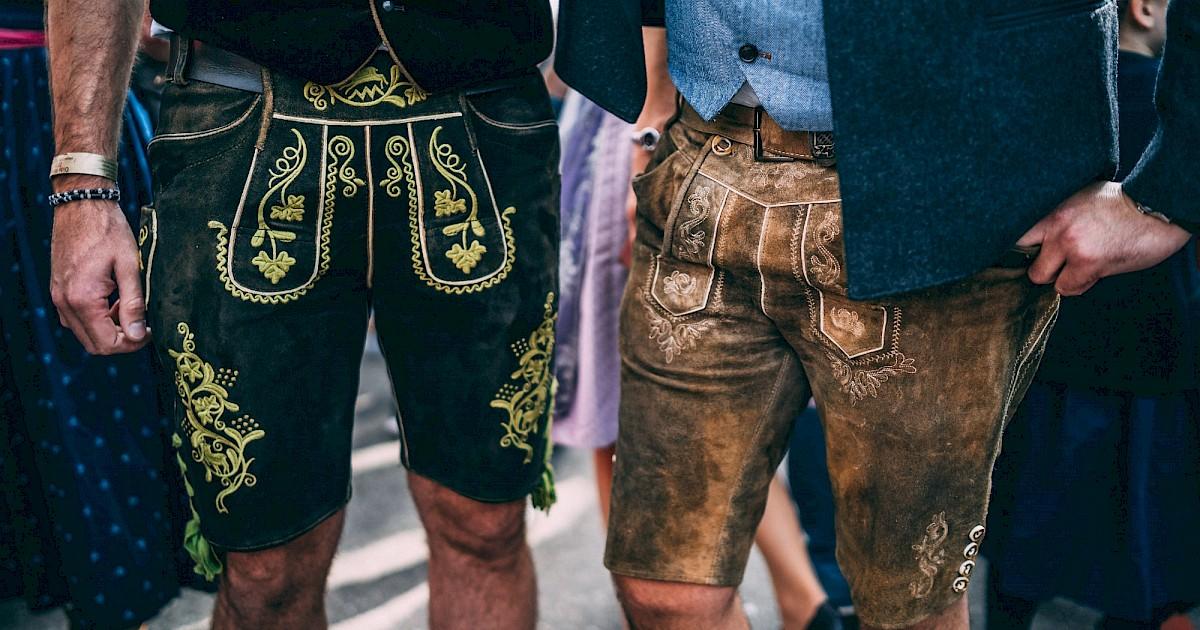 traditional fashion at oktoberfest