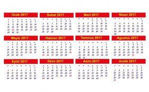 turkey public holiday calendar 2017