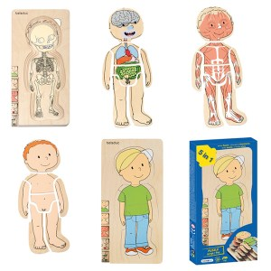 İnsan Anatomisi Puzzle - Erkek