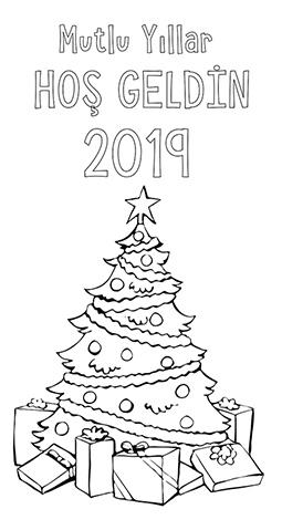 Büyük Boy Çam - Yılbaşı Ağacı Posteri